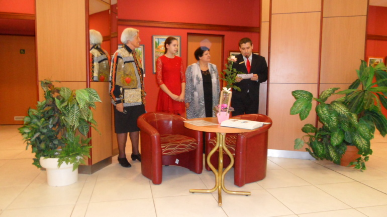 Támogatónk kiállításán jártunk a Benczúr Hotelban